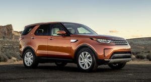 Land Rover Discovery получил <span id=